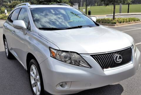 2010 Lexus RX 350 for sale at memar auto sales, inc. in Marietta GA
