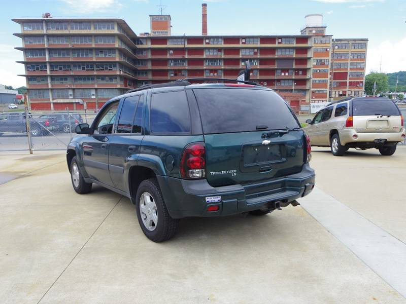 2005 chevrolet trailblazer ls 4wd 4dr suv in portsmouth oh. Black Bedroom Furniture Sets. Home Design Ideas