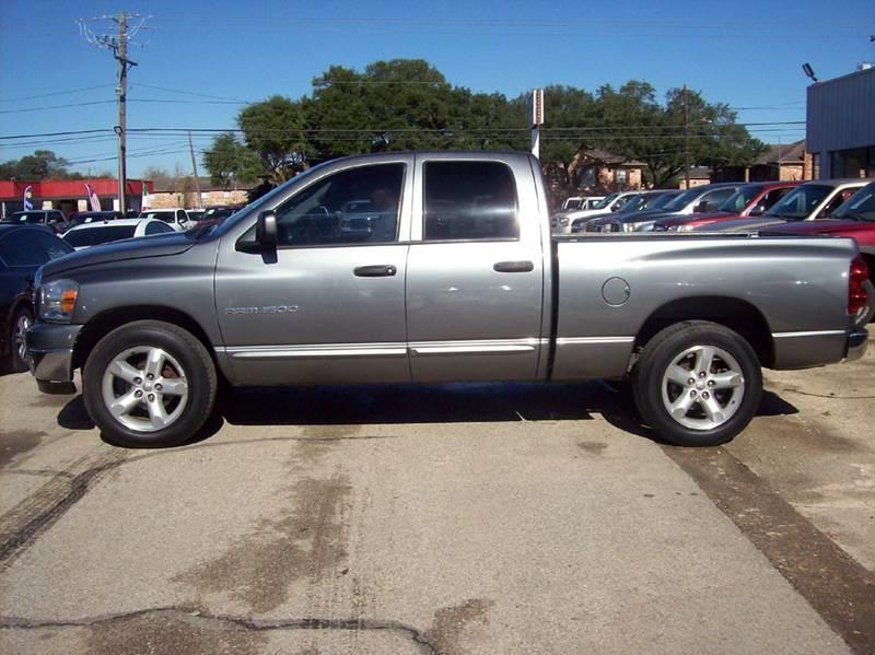 2007 dodge ram pickup 1500 slt 4dr quad cab sb in pasadena tx buffalo auto sales 2 inc. Black Bedroom Furniture Sets. Home Design Ideas