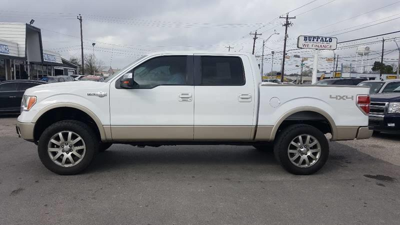 2009 ford f 150 4x4 king ranch 4dr supercrew styleside 5 5 ft sb in pasadena tx buffalo auto. Black Bedroom Furniture Sets. Home Design Ideas
