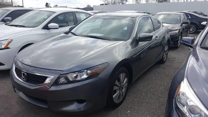 2010 Honda Accord EX 2dr Coupe 5A