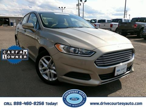 2015 Ford Fusion for sale in Thorp, WI