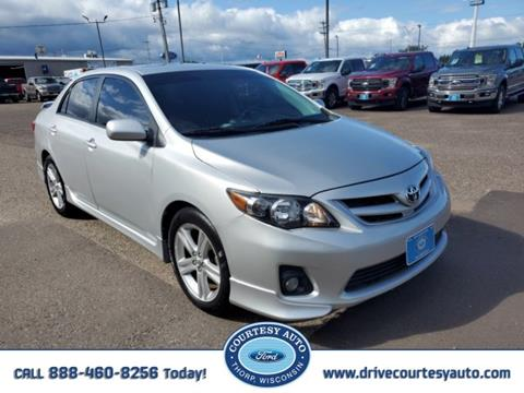 2013 Toyota Corolla for sale in Thorp, WI
