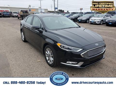 2017 Ford Fusion for sale in Thorp, WI