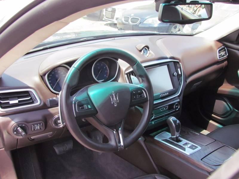 2015 Maserati Ghibli 4dr Sedan - San Diego CA