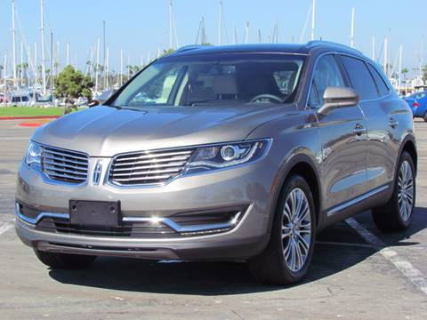 2017 Lincoln MKX for sale in San Diego, CA