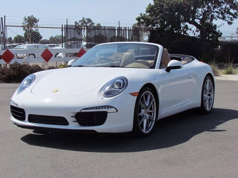 2012 Porsche 911 Carrera S 2dr Convertible - San Diego CA