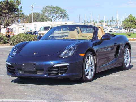 2013 Porsche Boxster for sale at Convoy Motors LLC in National City CA