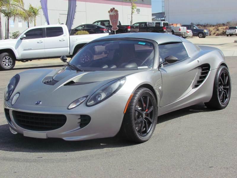 2005 Lotus Elise 2dr Roadster In National City CA - Convoy Motors LLc