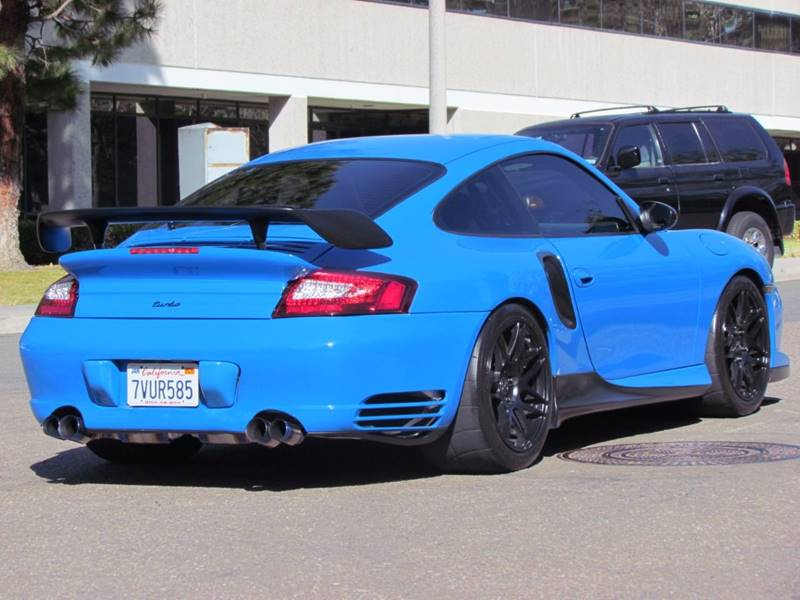 2001 Porsche 911 Awd Turbo 2dr Coupe In National City Ca Convoy