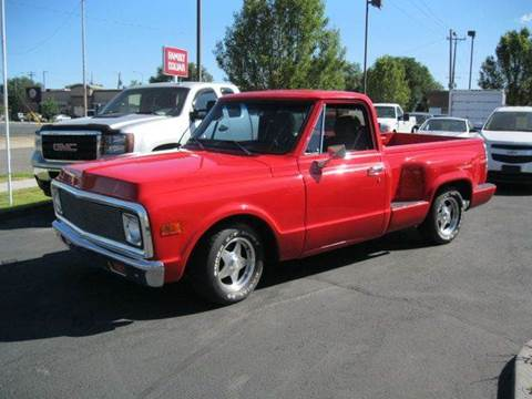 1972 Chevrolet C/K 10 Series for sale at University Auto Sales Inc in Pocatello ID