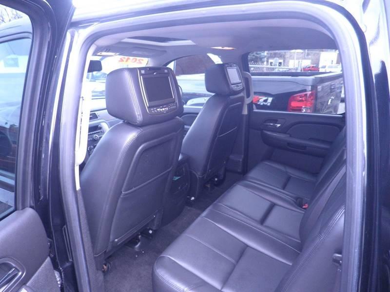 2012 Chevrolet Silverado 1500 4x4 LTZ 4dr Crew Cab 5.8 ft. SB - Gloversville NY