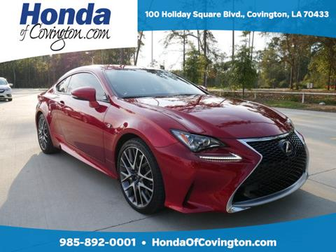 2017 Lexus RC 200t for sale in Covington, LA
