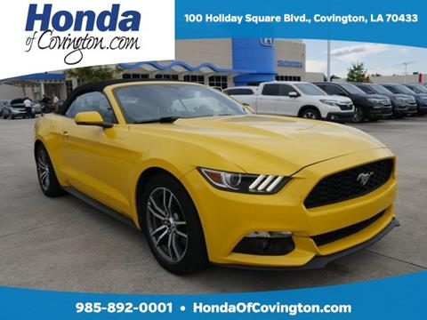 2016 Ford Mustang for sale in Covington, LA
