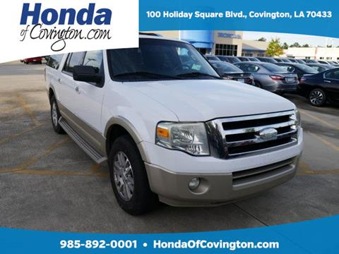 2009 Ford Expedition EL for sale in Covington, LA