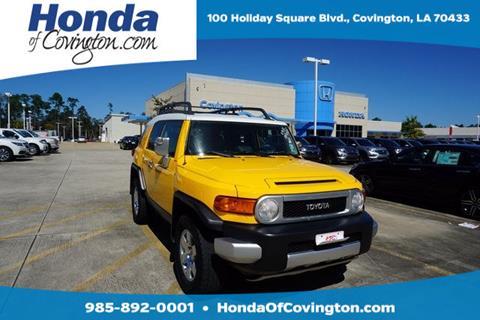 2007 Toyota FJ Cruiser for sale in Covington, LA