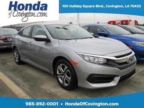2016 Honda Civic for sale in Covington, LA