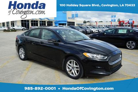 2015 Ford Fusion For Sale In Covington, LA