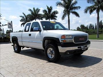 2001 GMC Sierra 2500HD for sale in Fort Myers, FL