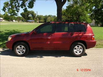 2004 Toyota Highlander for sale at K D AUTO SALES in New Braunfels TX