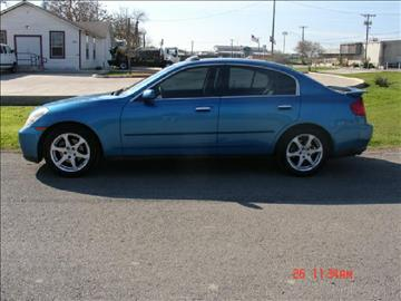 2003 Infiniti G35 for sale at K D AUTO SALES in New Braunfels TX