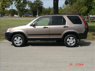 2003 Honda CR-V for sale at K D AUTO SALES in New Braunfels TX