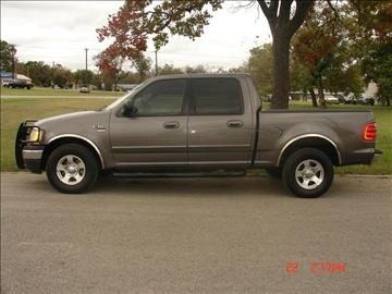 2003 Ford F-150 for sale at K D AUTO SALES in New Braunfels TX