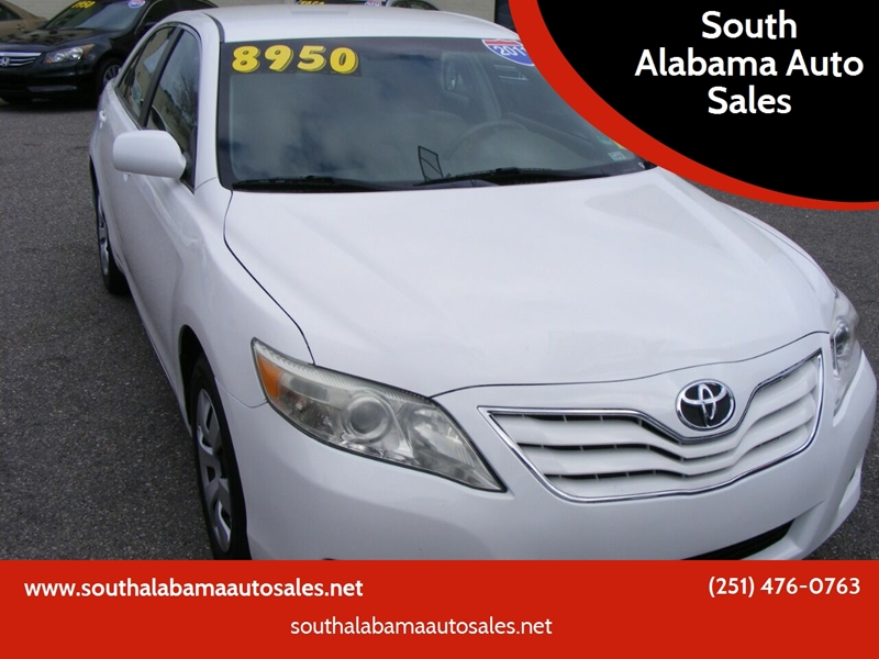 2011 Toyota Camry 4dr Sedan 6a In Mobile Al South Alabama Auto Sales