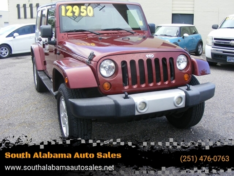 2008 Jeep Wrangler Unlimited for sale in Mobile, AL