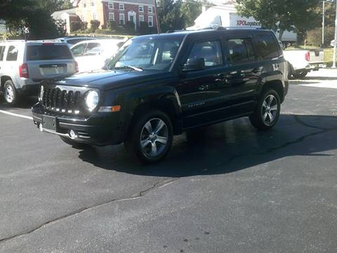 2016 Jeep Patriot for sale in North Grafton, MA