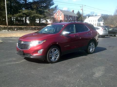 2018 Chevrolet Equinox for sale in North Grafton, MA