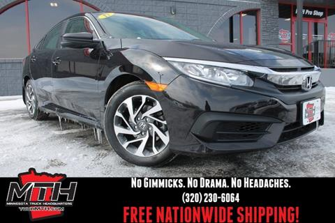 2017 Honda Civic for sale in Saint Cloud, MN