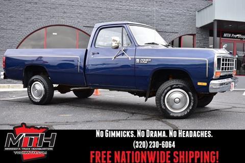 1985 Dodge D150 Pickup for sale in Saint Cloud, MN