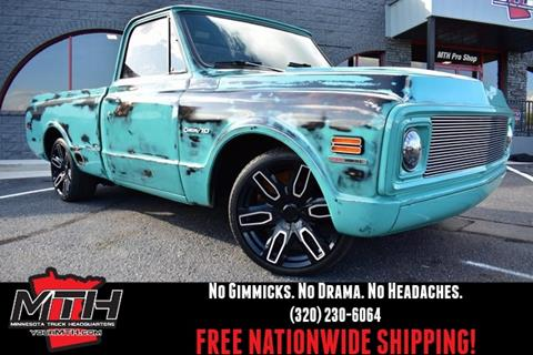 Classic Cars For Sale Mn >> 1972 Chevrolet C K 10 Series For Sale In Saint Cloud Mn