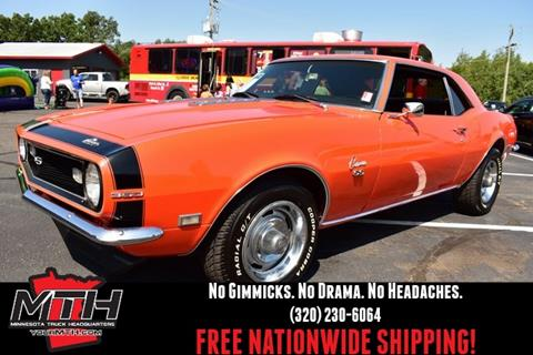 Classic Cars For Sale Mn >> 1968 Chevrolet Camaro For Sale In Saint Cloud Mn