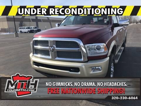 2013 RAM Ram Pickup 2500 Laramie Longhorn for sale at Your MTH in Saint Cloud MN
