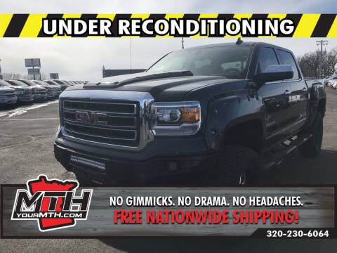 2015 GMC Sierra 1500 for sale at Your MTH in Saint Cloud MN