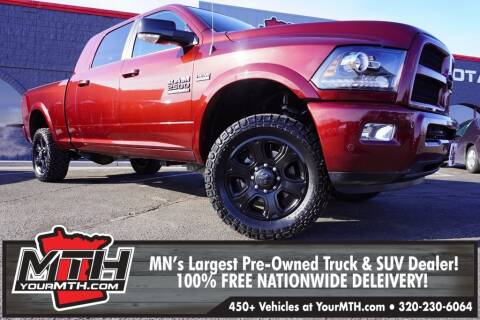 2016 RAM Ram Pickup 2500 Laramie for sale at Your MTH in Saint Cloud MN