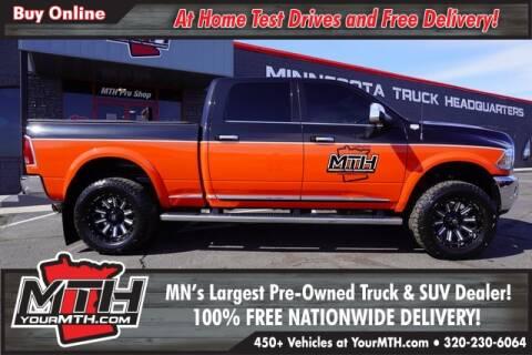 2018 RAM Ram Pickup 2500 Laramie Longhorn for sale at Your MTH in Saint Cloud MN
