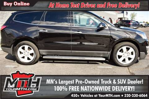 2016 Chevrolet Traverse LT for sale at Your MTH in Saint Cloud MN