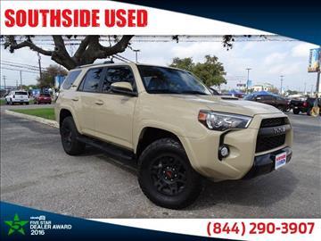 2016 Toyota 4Runner for sale in San Antonio, TX