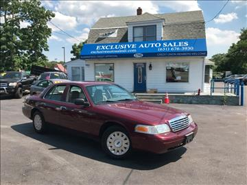 2008 Ford Crown Victoria for sale in Centereach, NY