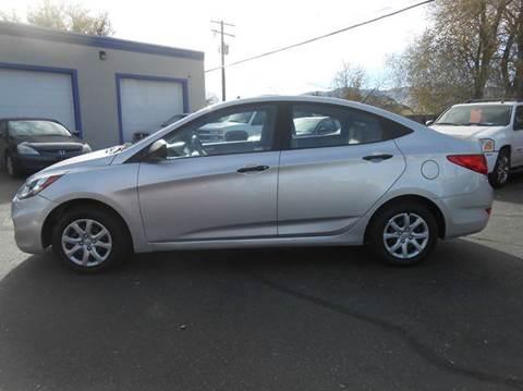 2012 Hyundai Accent for sale at Oak Street Auto Brokers in Pocatello ID