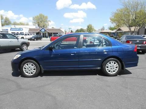 2005 Honda Civic for sale at Oak Street Auto Brokers in Pocatello ID