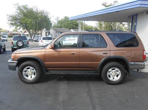 1999 Toyota 4Runner for sale at Oak Street Auto Brokers in Pocatello ID
