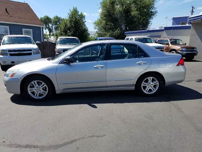 2006 Honda Accord for sale at Oak Street Auto Brokers in Pocatello ID