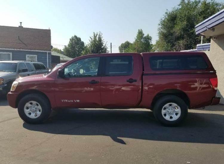 2007 Nissan Titan for sale at Oak Street Auto Brokers in Pocatello ID