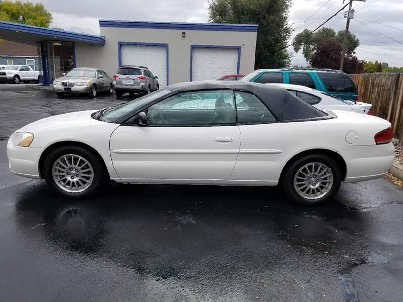2004 Chrysler Sebring for sale at Oak Street Auto Brokers in Pocatello ID