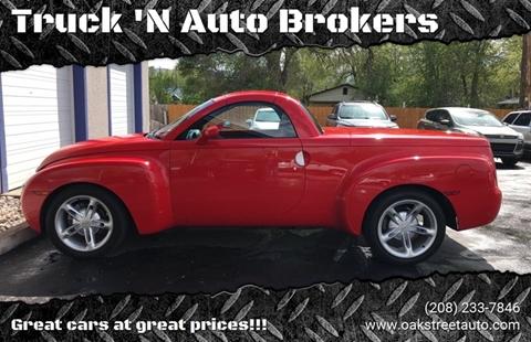 2003 Chevrolet SSR for sale in Pocatello, ID