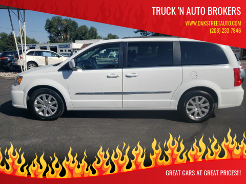 2014 Chrysler Town and Country for sale at Truck 'N Auto Brokers in Pocatello ID